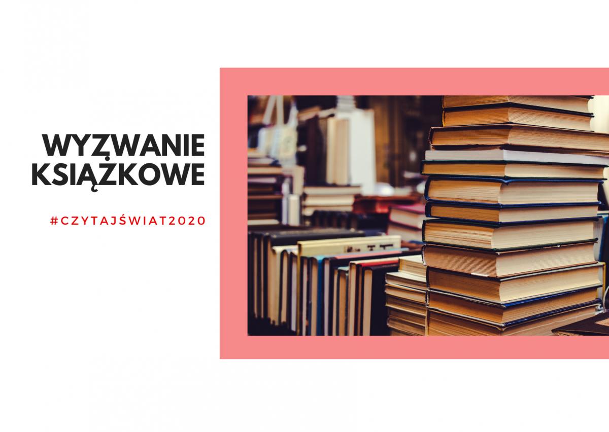 wyzwanie książkowe #czytajświat2020
