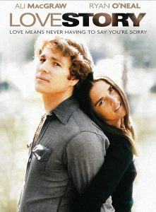 love story plakat filmowy